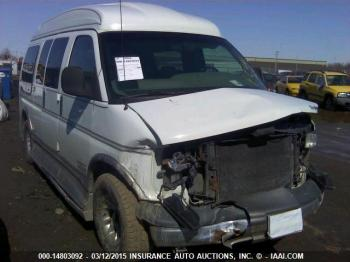 Salvage Chevrolet Uplander