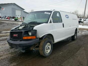Salvage GMC Savana Cargo